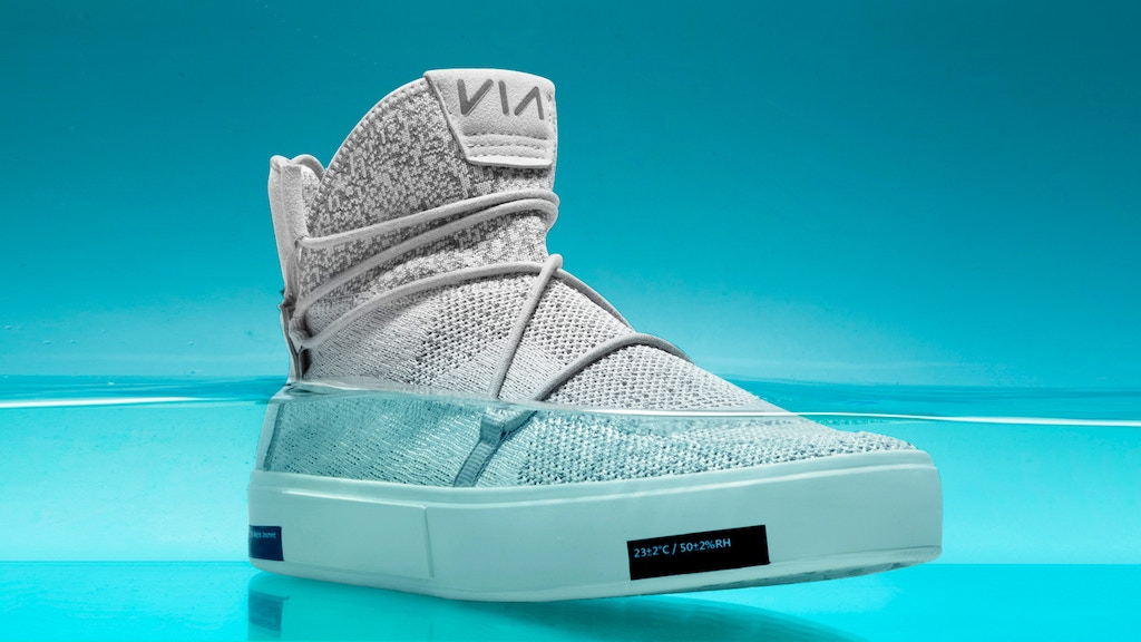 VIA | The Waterproof Knit Shoes Made from Ocean Plastic project video thumbnail