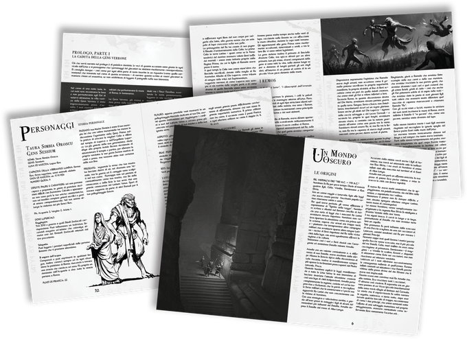 FIRST KINGS (RPG in a Dark Fantasy Rome) by Epic Party Games