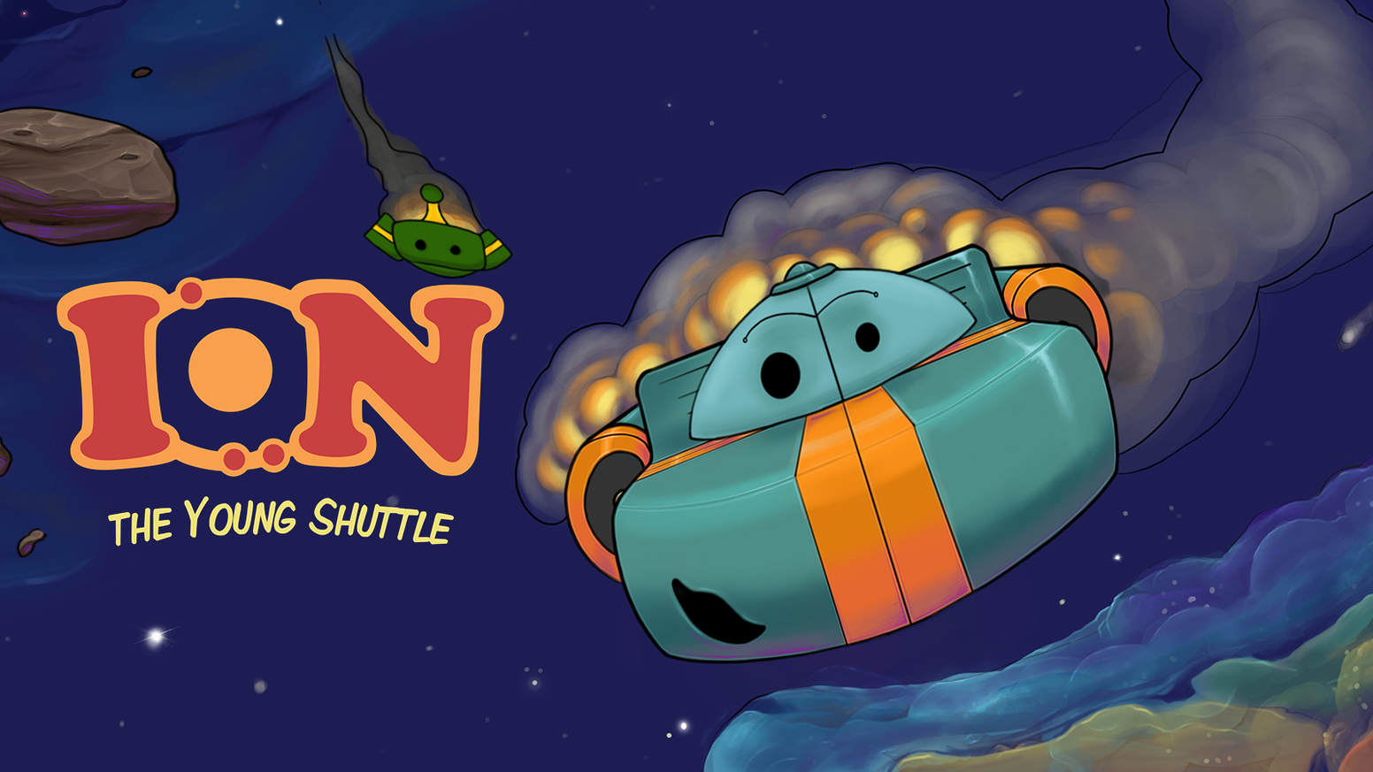 A children's picture book about learning, exploring, and having fun in outer space!