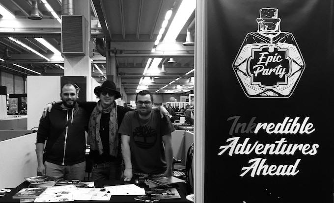 Matteo Sanfilippo, Max Castellani, Andrea Macchi (@ PLAY Modena Comic Con)