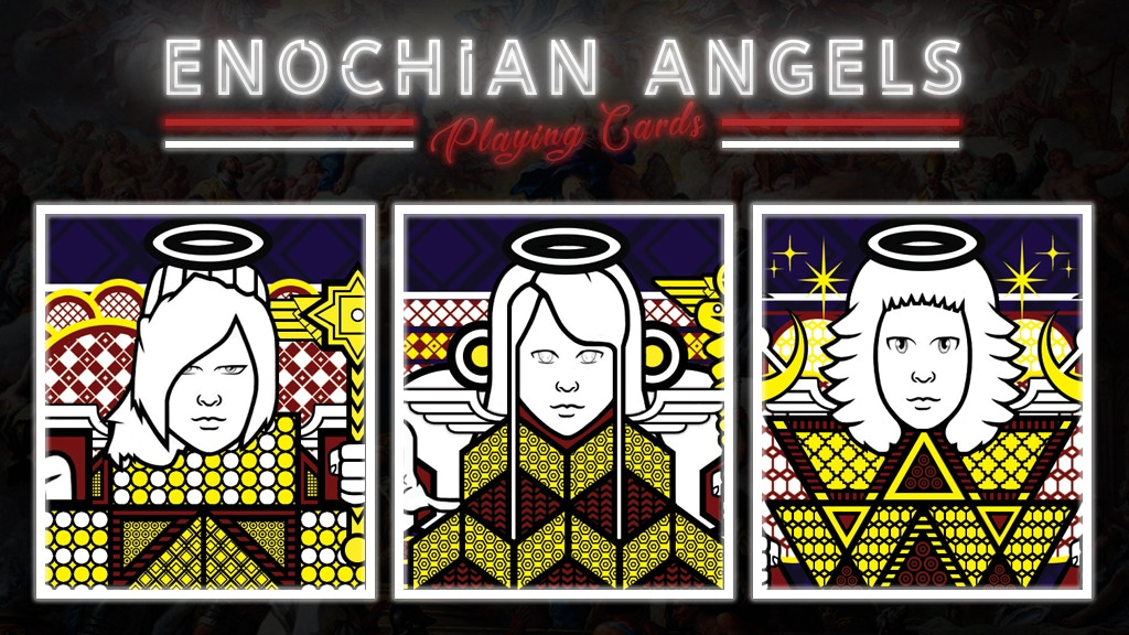 Project image for Enochian Angels Playing Cards