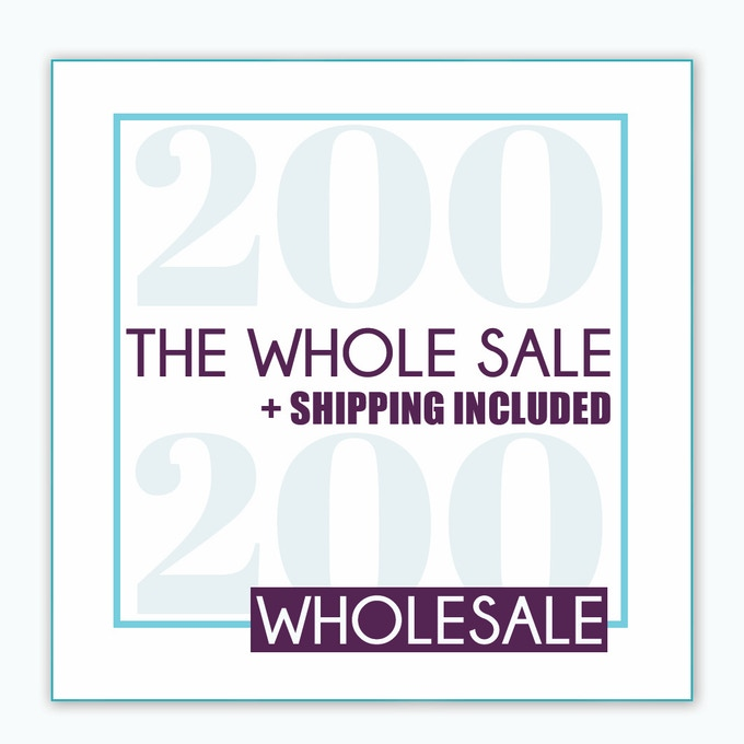 The Whole Sale - $200 for 10 Boxes PLUS shipping is included
