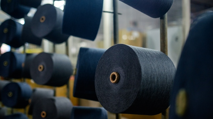 Organically Dyed Cotton Yarn