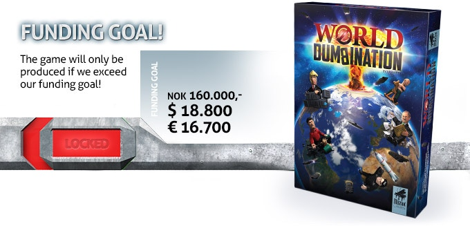 Since we are based in Norway Kickstarter show all amounts in NOK that is the currency in Norway.