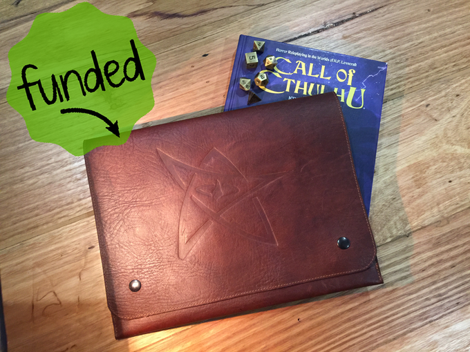 Leather Document Wallet - Click To Buy