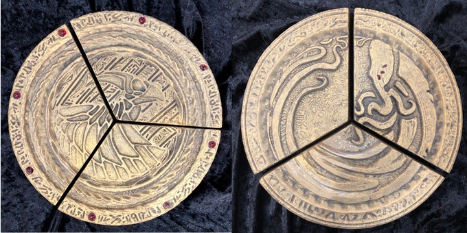 Full sized Disk front and back