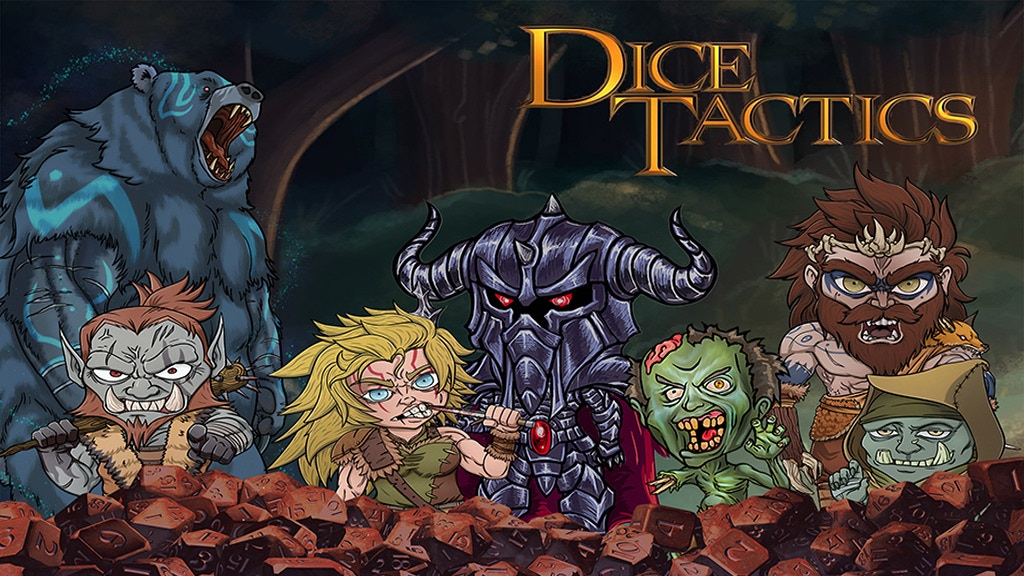 Dice Tactics: A Digital Tabletop-Like Experience project video thumbnail
