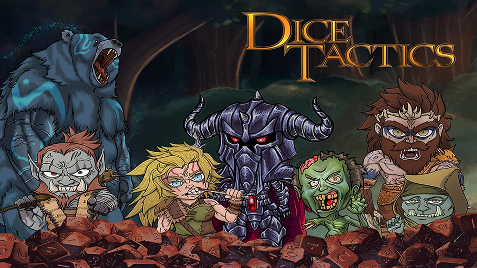 Dice Tactics: A Digital Tabletop-Like Experience by Game