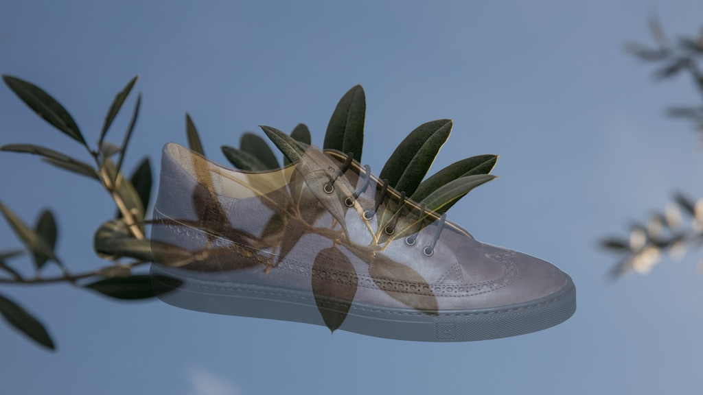 Olive Leather Sneakers project video thumbnail