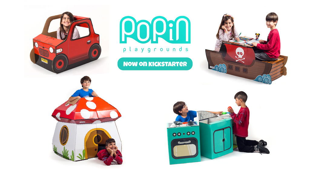 POPIN™ | Indoor Pop-Up Playgrounds project video thumbnail