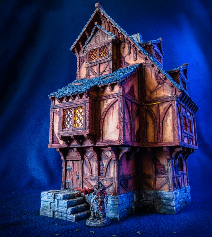 The House v1 model - painted version