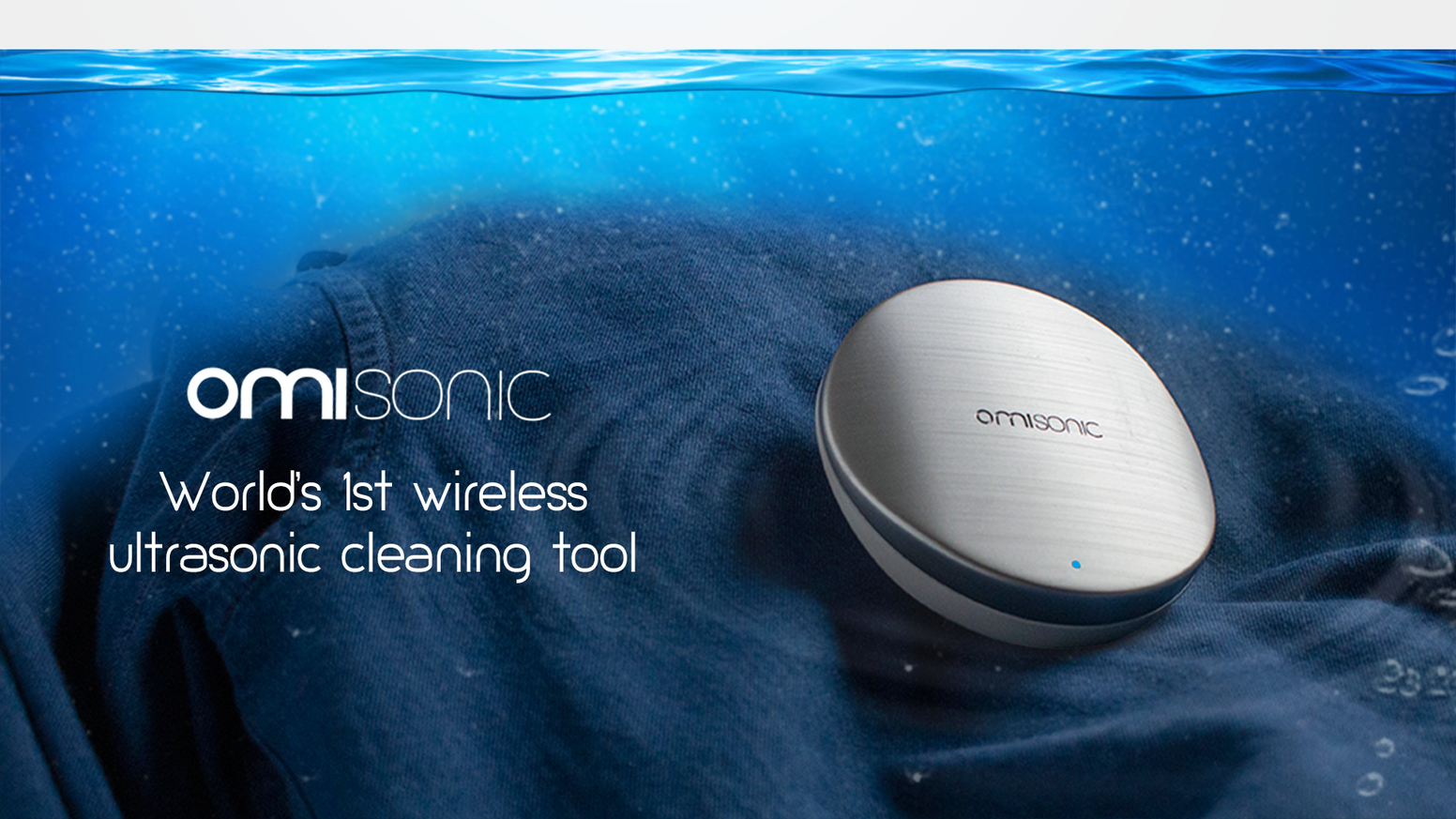 Clean your clothes, vegetables, jewelry at a microscopic level anywhere, anytime with the power of wireless ultrasonic technology!