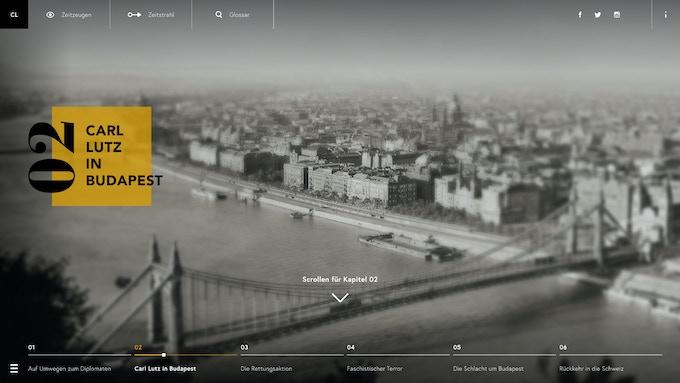 Prototype of the web documentary