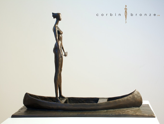 """Empowered"" award: grace, beauty, strength...Statue stands 17"" tall"