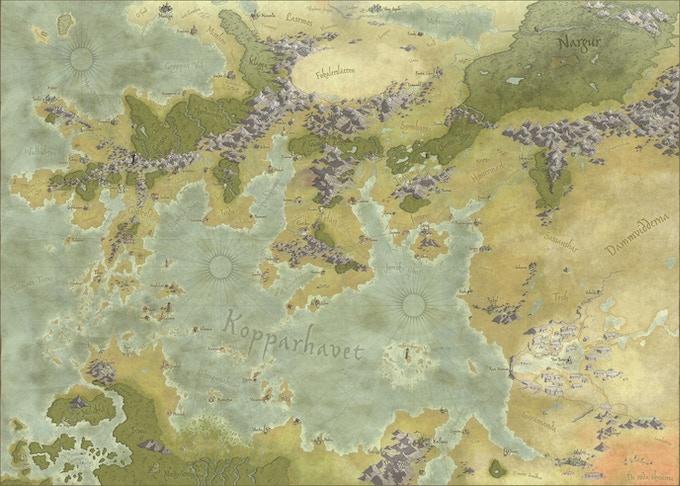 Kopparhavet år 612 e.U