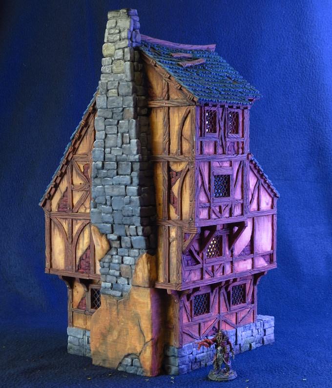 House v1 - back side