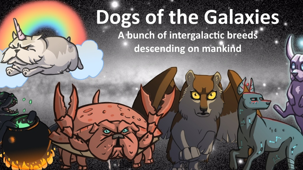 Dogs of the Galaxies - A Card Game About Intergalactic Dogs project video thumbnail