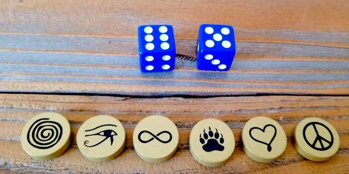Game Pieces & Dice !