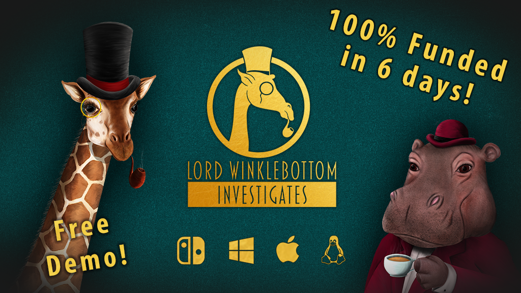 Lord Winklebottom Investigates - Murder! Mystery! Giraffes! project video thumbnail