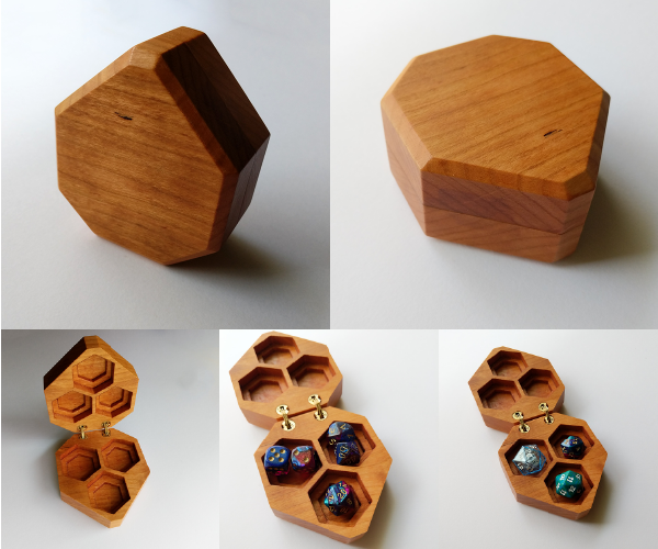 Galdrecraft: Heirloom quality dice chests and tarot boxes