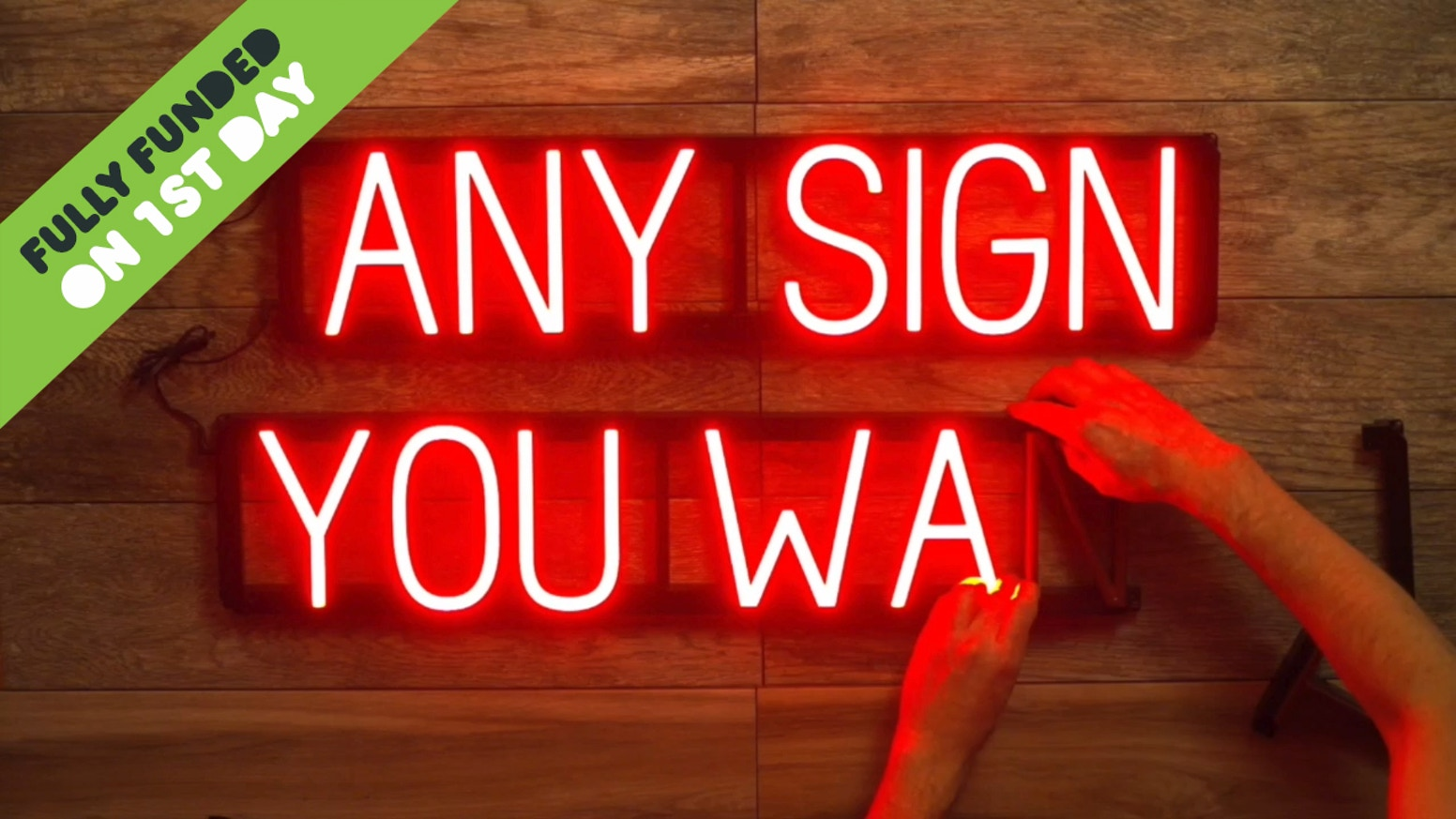 SpellBrite Colors: Click-Together LED Signs in 3 New Colors