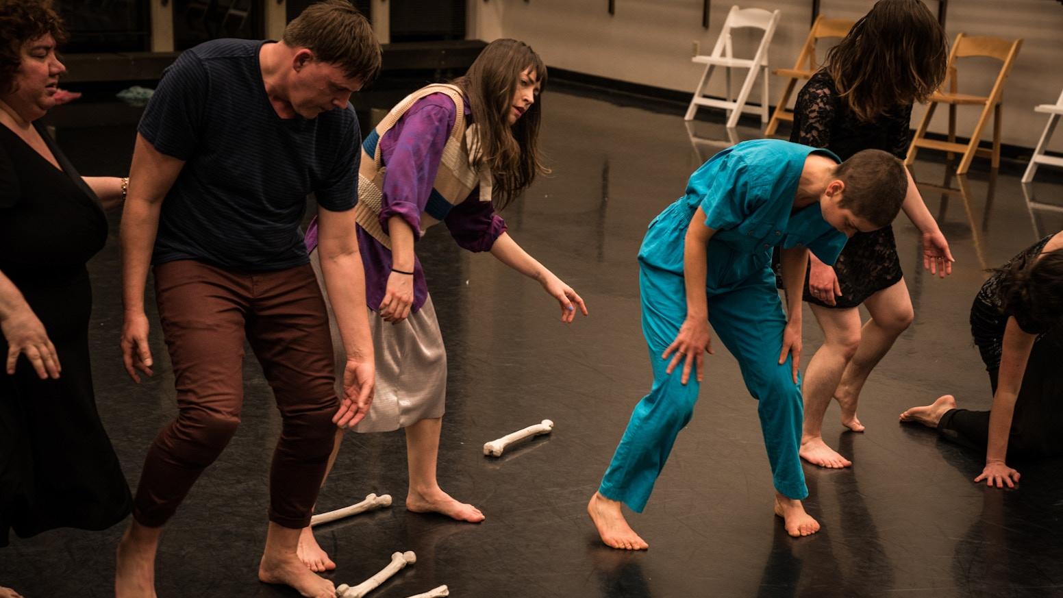 A dance-theatre performance researching Epigenetics/inherited trauma & desire.