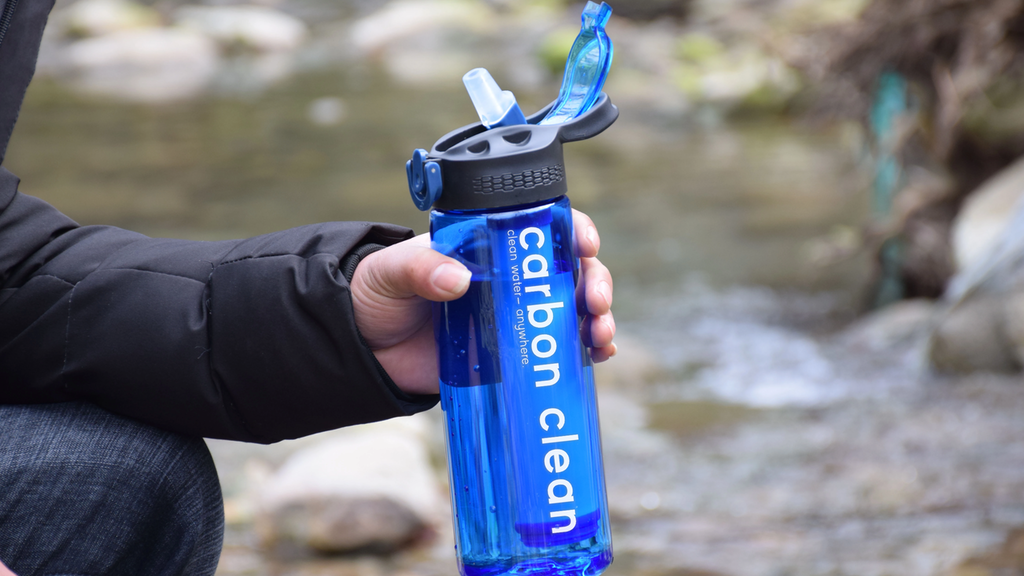 The Carbon-Activated Water Bottle