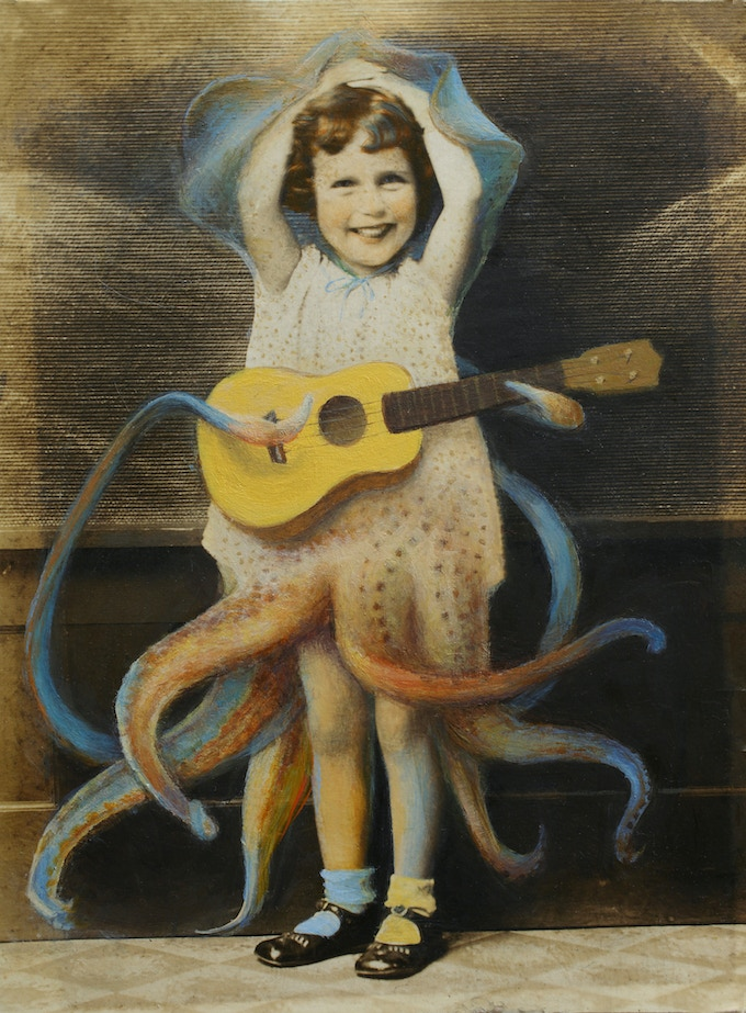 "Pearl was the first Cephalopod Ambassador to the Dry Lands. They did not realize that no one would listen to her. Eight is a very great age for a squid, though, as it happens, not for a human. Plus, she's a girl, and who knew that would make a difference? (from Kij Johnson's ""Tool-Using Mimics"" in THEN AGAIN)"