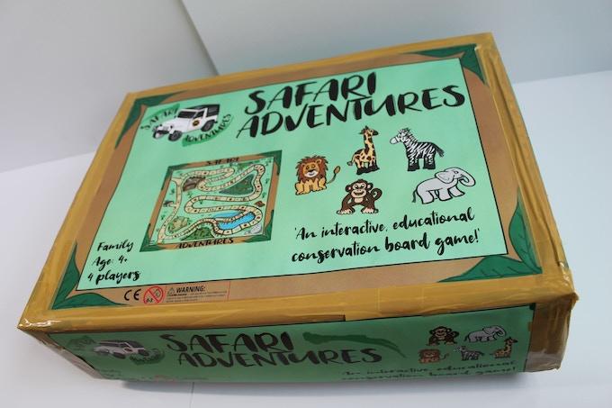 Safari Adventures Game Box