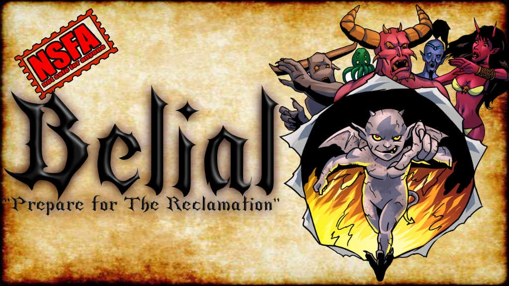 Belial, a 32 pg action-comedy romp of Hellish proportions!!! project video thumbnail