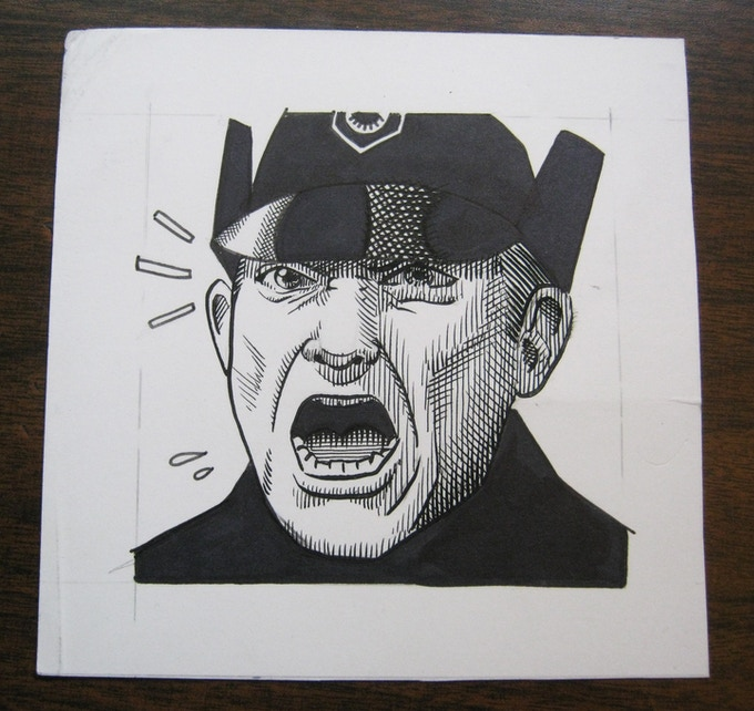 (ART0) Angry Hux  *SOLD!!!*