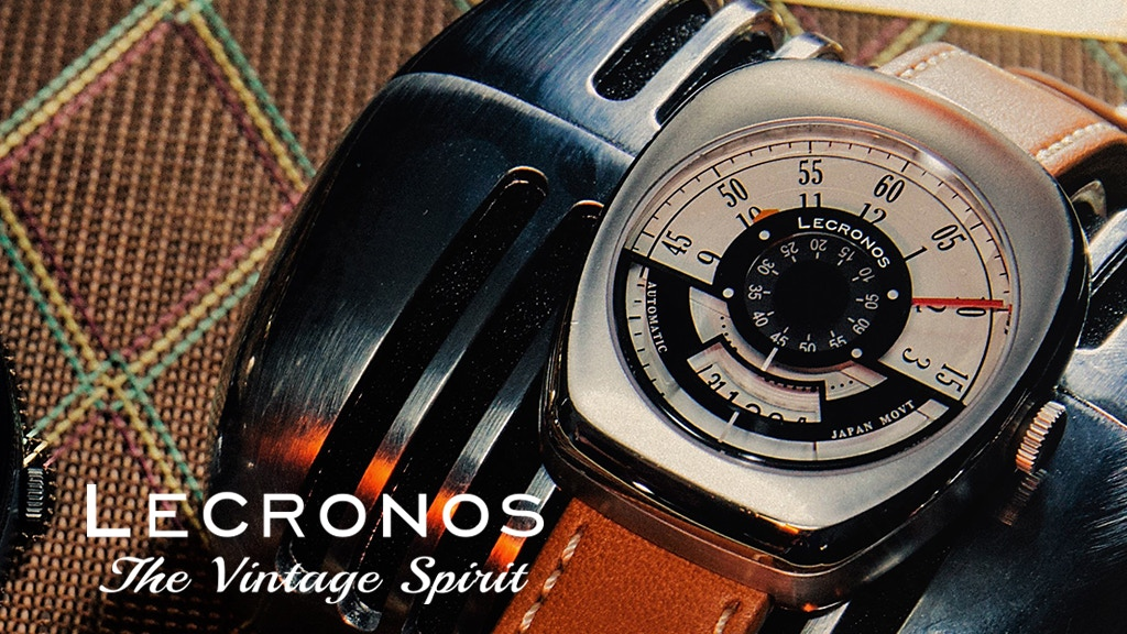 Japan Automatic Vintage Music Inspired Watches By LECRONOS project video thumbnail