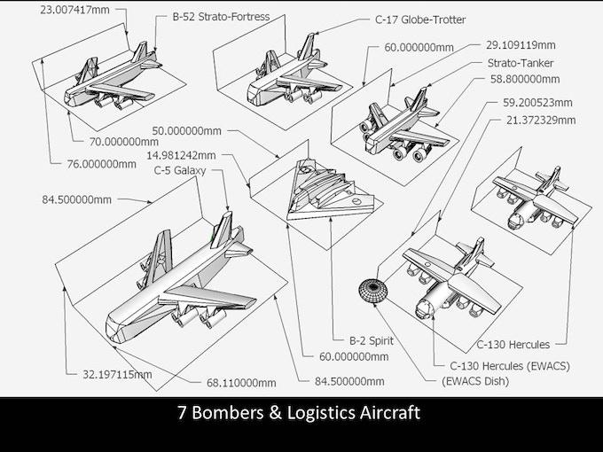Bombers & Logistics