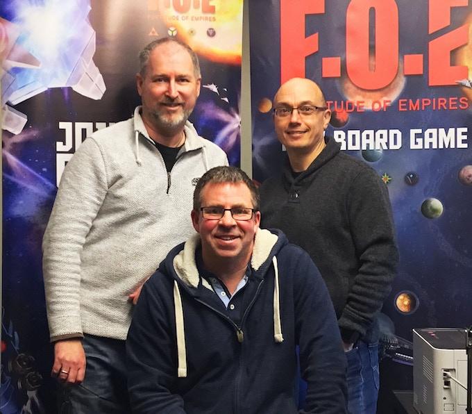 Adrian, Paul and Martin.