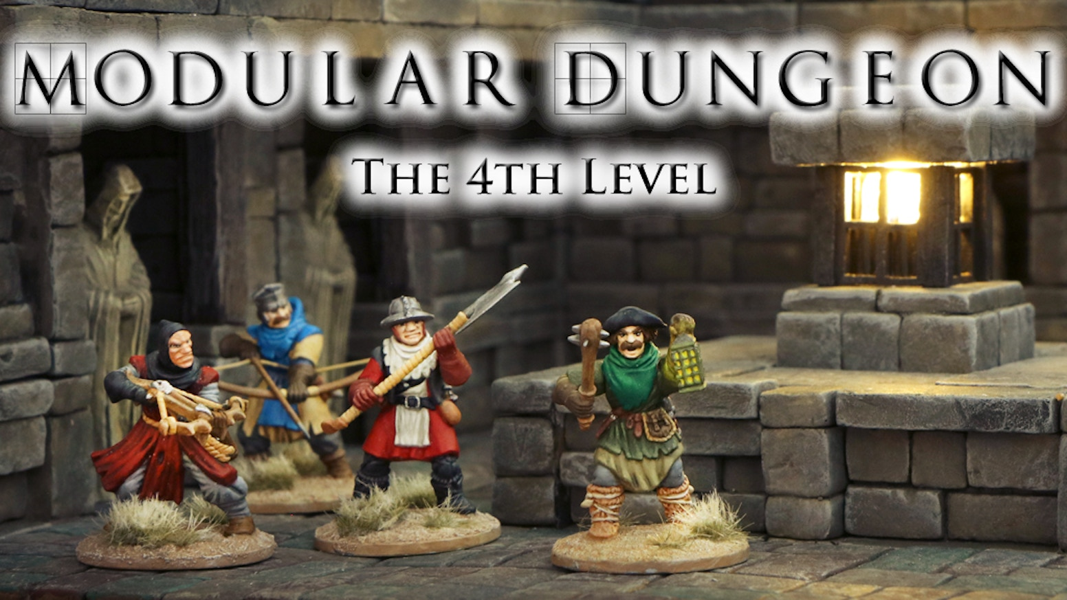 MODULAR DUNGEON is a 3D construction kit to bring all your dungeon ideas to life. Extend them now with more brand-new designed add-ons