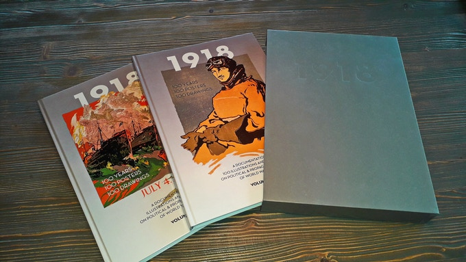1918 -2018 // 100 years propaganda Posters of WW1, 224 pages, slipcase
