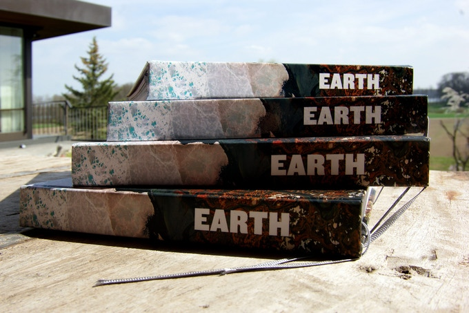 EARTH // 240 pages landscape format / Photography from space about the climate change