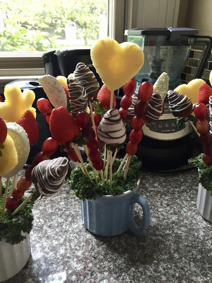 Delanna's edible fruit arrangements