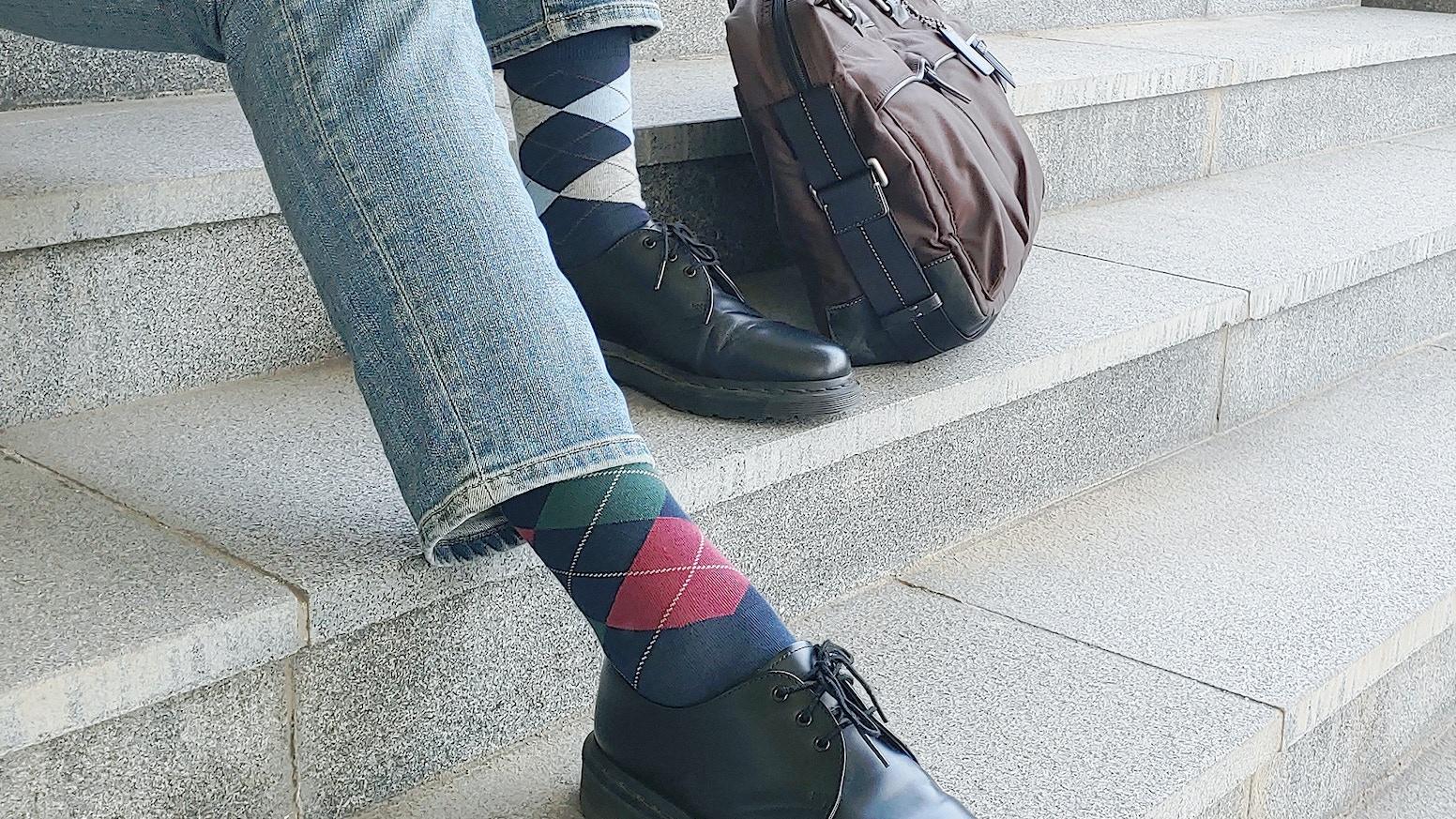 World's most versatile socks for men - Features heat regulation, odor elimination & bacteria suppression.