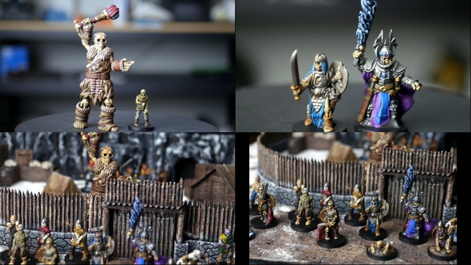 """printed and painted by Danny from """"3D Printed Tabletop"""""""