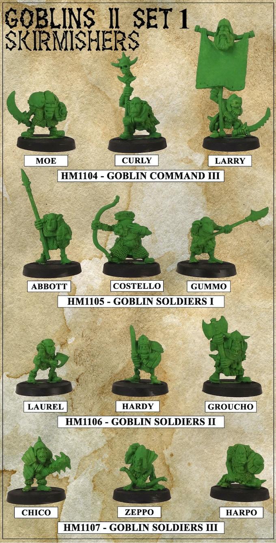 Curly's Goblin Skirmishers