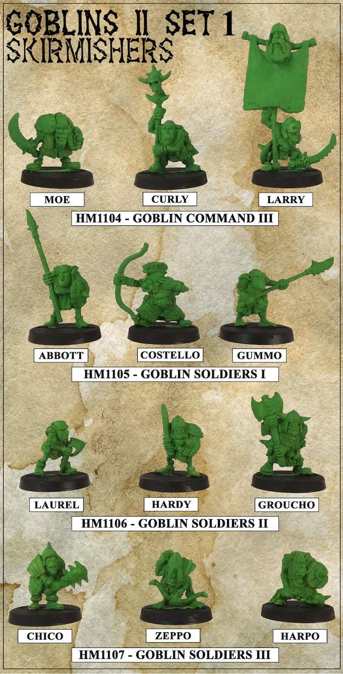 Curly's Goblin Skirmishers