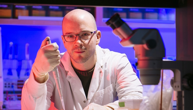 Me in the lab, working on some insect DNA! Good times... Happy to chat with anyone about gaming, PCRs, or entomology. :D
