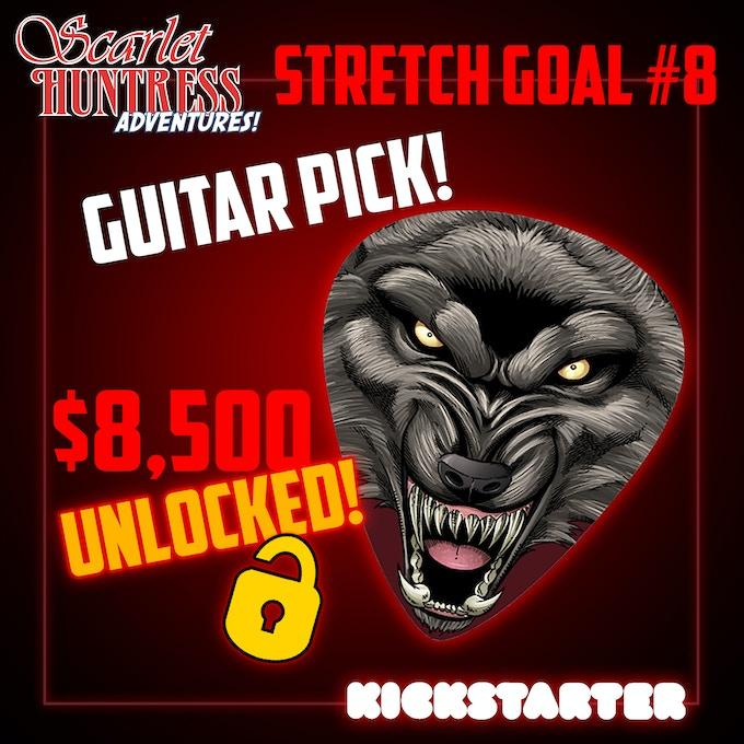 Stretch Goal #8 UNLOCKED!!!