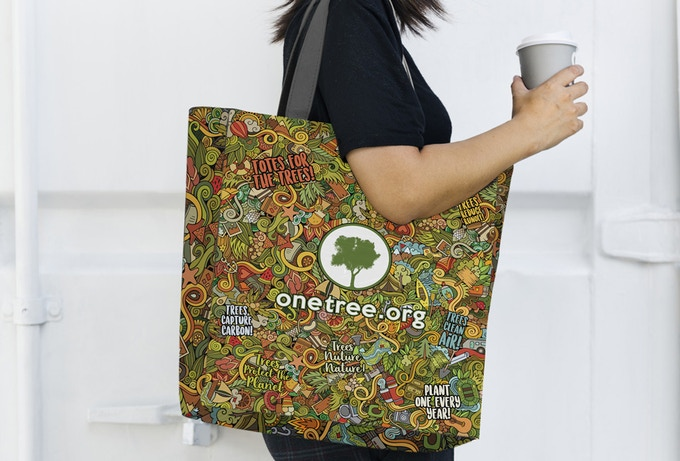 Totes for the Trees - Original Supporter Design