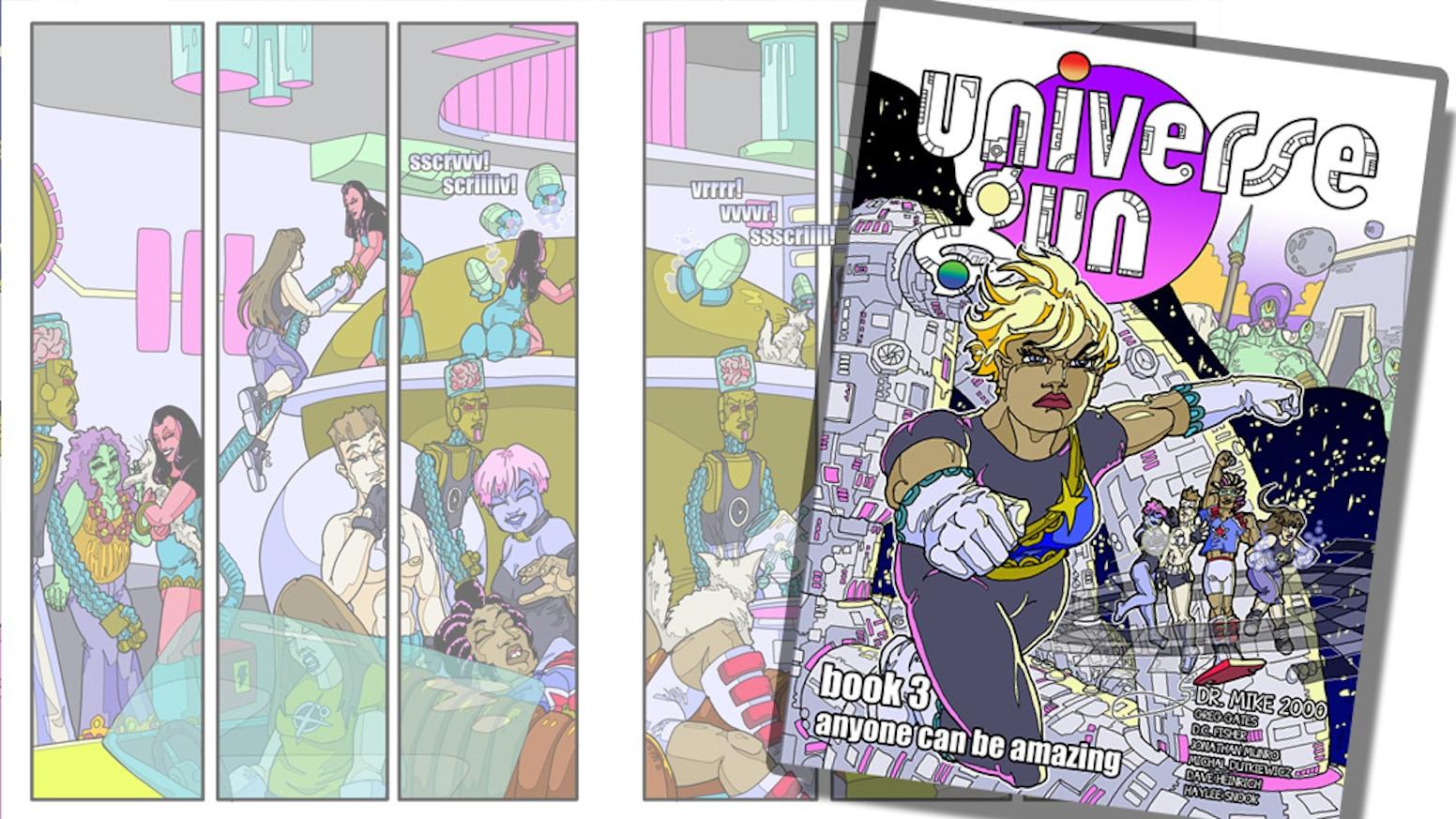 Universe Gun Book 3 by Mike Cooper — Kickstarter