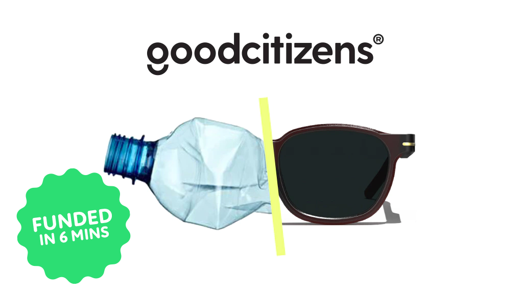 good citizens: Recycling plastic bottles into sunglasses project video thumbnail