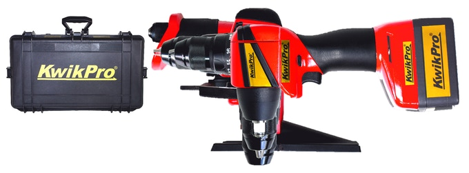 KwikPro is the power tool equivalent of a multifunction knife or multitool