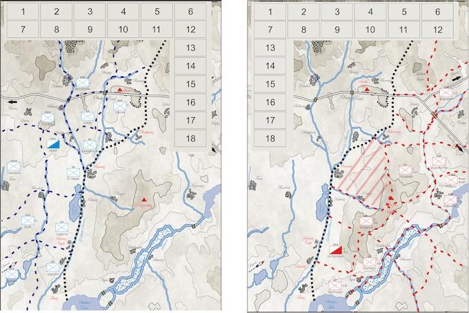 Deployment Maps (Strategic Movement)