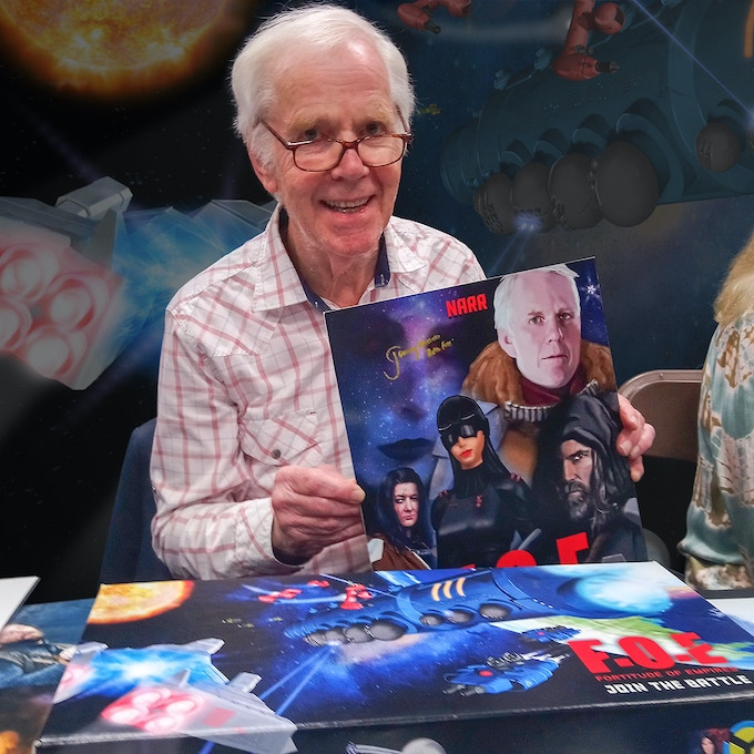 Jeremy Bulloch aka Boba Fett and his character Crassus.